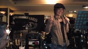 生バンドで(^O^)