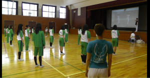 2015年9月8日 四條畷学園高等学校 (保育科) 3年生
